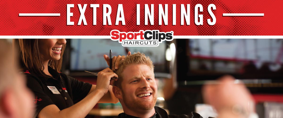The Sport Clips Haircuts of Jupiter  Extra Innings Offerings